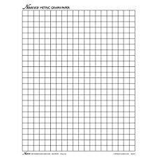 Amazon Com Nasco Tb25325t Graph Paper 1cm Squares 11 X 8 1 2