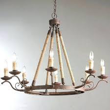 wrought iron pendant lights loft industrial style