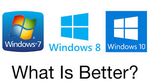 Know The Difference Between Windows 7 Windows 8 And Windows