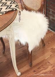 fur chair cushion just pillow
