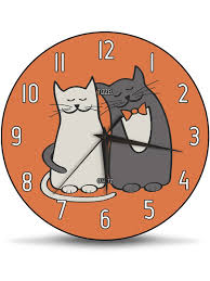 "<b>Часы</b> настенные ""Cats In <b>Love</b>"" 30 см TIZZEL 9966188 в интернет ..."
