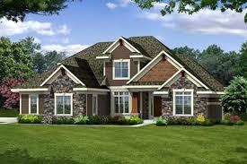 1 2 story house plans craftsman elevation