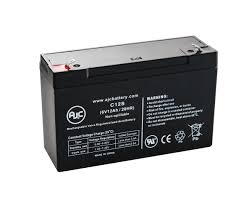 Emergency Light Battery Replacement Details About Lithonia Elb0609 6v 12ah Emergency Light Replacement Battery