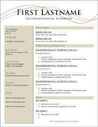 Sample resume free download in word format Resume Templates mDbUDz77