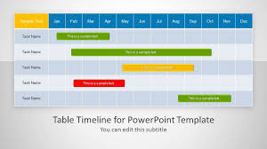 Creative Table Chart Creative Templates For Gantt Charts Project Planning In