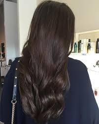 Dark Brunette Hair Colour