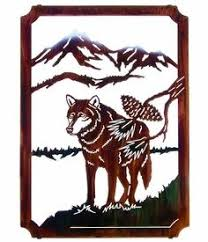 22 metal wall sculpturemetal wall artmetal  on neil rose metal wall art with 22 lone wolf framed metal wall art by neil rose lone wolf metal