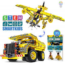 Building Toys Gifts for Boys \u0026 Girls Age 6yr-12yr, Construction Engineering Kits 7, 8, 9, 10 Year Old, Educational STEM Learning Sets Kids