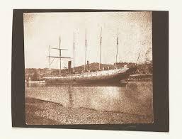 The passenger liner Great Britain (1843) at Brandon Warf, Bristol ...