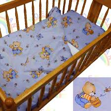 obaby bear quilt and per crib set