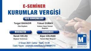 Kurumlar Vergisi e-Semineri - YouTube