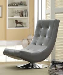 swivel accent chair. Furniture-of-America-Dresden-Leatherette-Swivel-Armless-Accent- Swivel Accent Chair