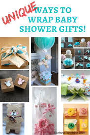 Baby Shower Gifts and Clever Gift Wrapping Ideas