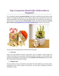 top 6 corporate diwali gifts deliverable to gurgaon