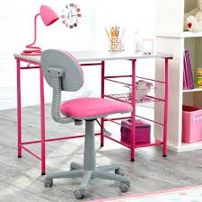 desk chairs desk chair for teenage girl gray plastic swivel frame mixed pink fabric padded