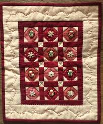 Snow Buttons quilt kit by Red Button Quilt Co. &  Adamdwight.com