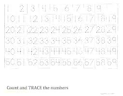 Free Printable Tracing Numbers 1 Worksheets Kids Number Writing ...