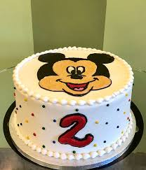 mickey mouse layer cake cly