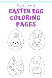 25 Free Printable Easter Egg Templates Easter Egg