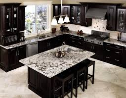 phenomenal design dark kitchen cabinets unusual dark kitchen design with cream tile backsplash and dark wood kitchen cabinet ideas jpg