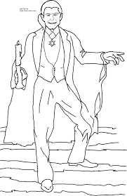 Small Picture Scary Halloween Printable Coloring Pages Pages For Dracula esonme
