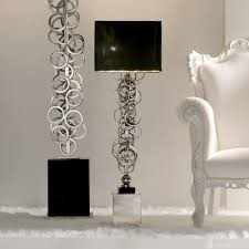 contemporary italian lighting. High End Contemporary Italian Silver Lamp Lighting N