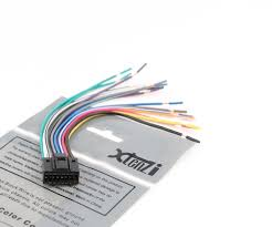 xtenzi wire harness radio in dash aftermarket cable plug xtenzi wire harness radio for kenwood indash dvd cd mp kdc mp342u kdc mp345u