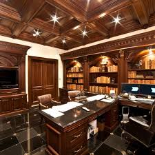 Best Masculine Home Offices Ideas On Pinterest Man Office