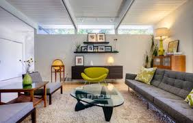 Mid-Century Modern Living Room Elements--In One Picture