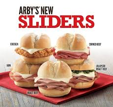 it s imately clear that these sliders are pretty much exactly like regular arby s sandwiches just scaled down so if you re a fan of the big guys