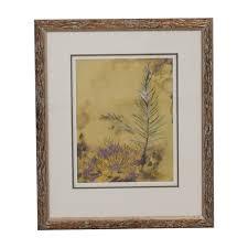 ethan allen ethan allen botanic framed print multi  on ethan allen wall art metal with 59 off ethan allen ethan allen botanic framed print decor