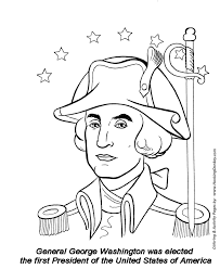 Small Picture July 4th Coloring Pages George Washington First President