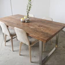 Esstisch Holz Metall