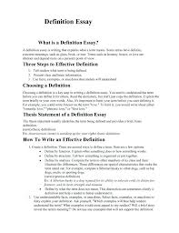 Example Of Definition Essay Topics How To Write A Definition Essay On Beauty