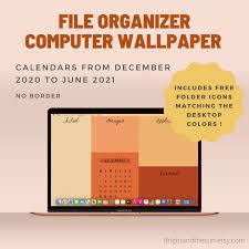 Desktop wallpaper organizer ...