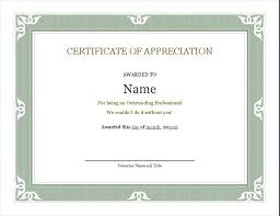 Administrative Professional Certificate Certificate Of Recognition For Administrative Professional