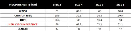 Buckle Size Chart High Waist Shorts Buckles
