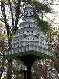 martin bird house plans. Purple Martin House - Probably A Newer Version Based On Original Design By J Warren Jacobs Bird Plans 1