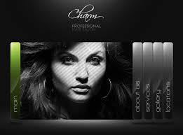 Hair Saloon Websites Charm Hair Salon Website Ovizo Web Services