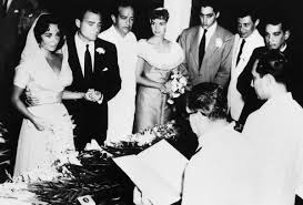 eddie fisher and debbie reynolds. Interesting Eddie Debbie And Eddie Look On At Elizabeth Mikeu0027s Wedding AP On Fisher And Reynolds T