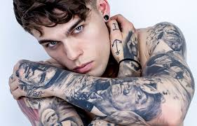 Tetování Záda Muži