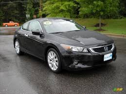 2008 Nighthawk Black Pearl Honda Accord EX-L V6 Coupe #17930687 ...