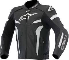 alpinestars 2016 celer leather riding jacket w sd hump blk wht eu