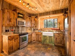 Rustic Cabin Kitchen Interior Designs Impressive Rustic Lodge Cabin Home Decor Rustic
