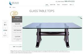 in square glass table tops you can get a variety of s i e 34 inch square 3 8 inch thick pencil polished tempered glass table top 36 inch square