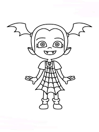 Free Printable Vampirina Coloring Pages For Kids