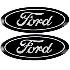 ford emblem. Exellent Ford PUTCO Ford Emblem Black Anodized Billet Aluminum Pair With Back Up Camera  F150 2009 For 0