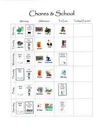 4 Person Chore Chart Chores Charts And How To Begin Rocket City Mom