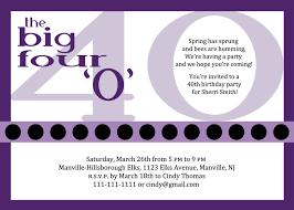 elegant 40th birthday party invitation wording birthday and party throughout awesome 40th birthday invitation wording