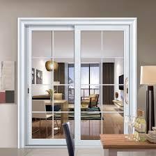 china soundproof interior sliding door